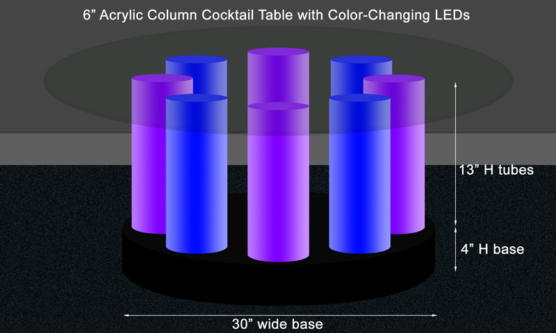 Excellent Acrylic LED Lighted Table 800 x 480 · 198 kB · jpeg