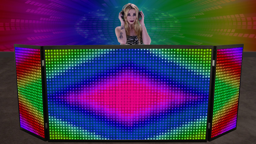 Miraculous Led Dj Booth And Led Dj Facade Download Free Architecture Designs Rallybritishbridgeorg