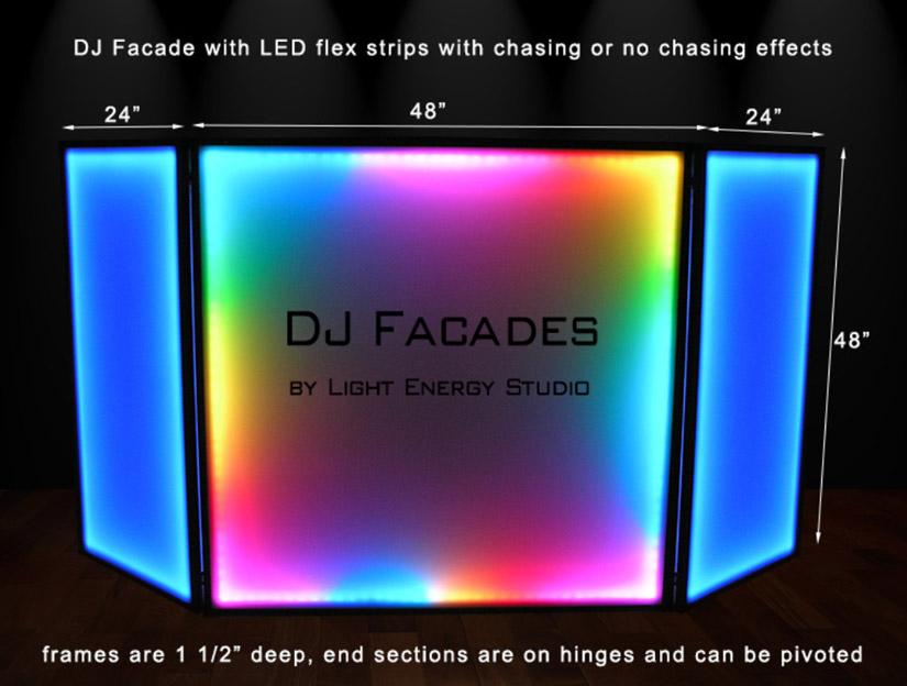 Fantastic Led Dj Booth And Led Dj Facade Download Free Architecture Designs Rallybritishbridgeorg