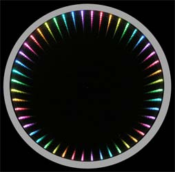 Color Changing Infinity Mirror Wall Displays And Tables