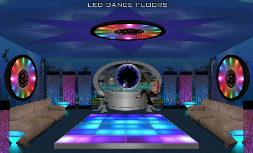 LED Dance Floor and Lighted Floors