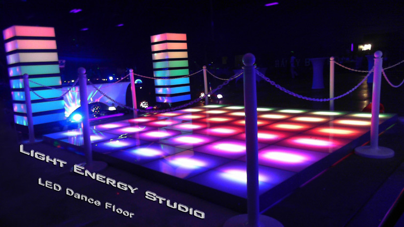 LED Dance Floor and Lighted Floor