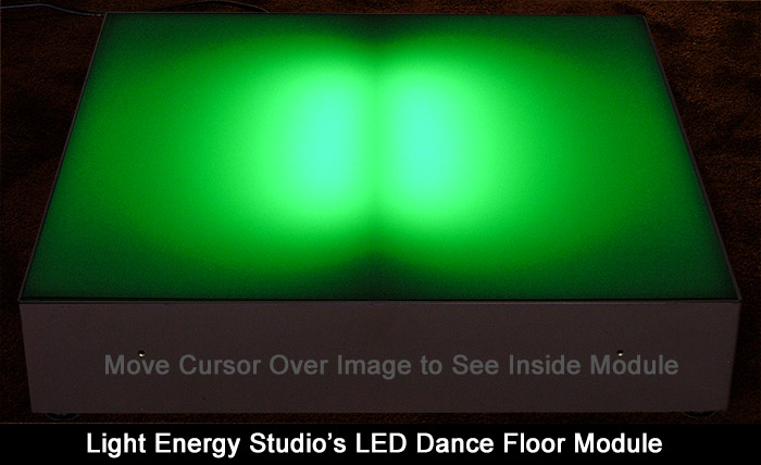 Analog LED Dance Floor