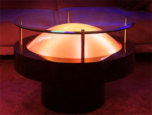 LED Dome Cocktail Table