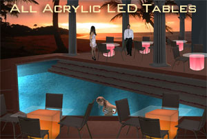 ALL Acrylic LED Tables