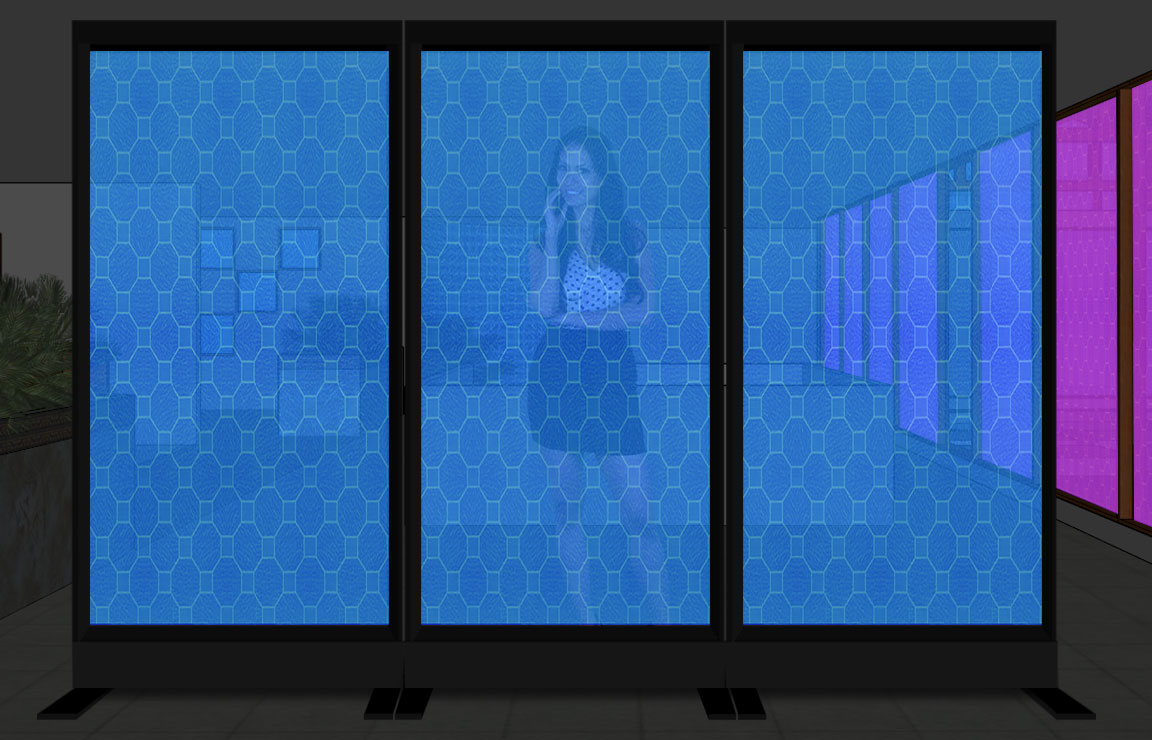 Led lighted room dividers and space partitions - Opaque room divider ...