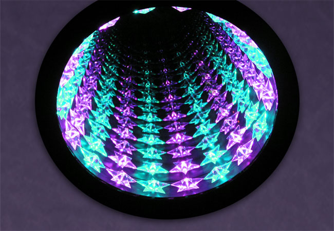 Star Infinity Mirror Table And Wall Display